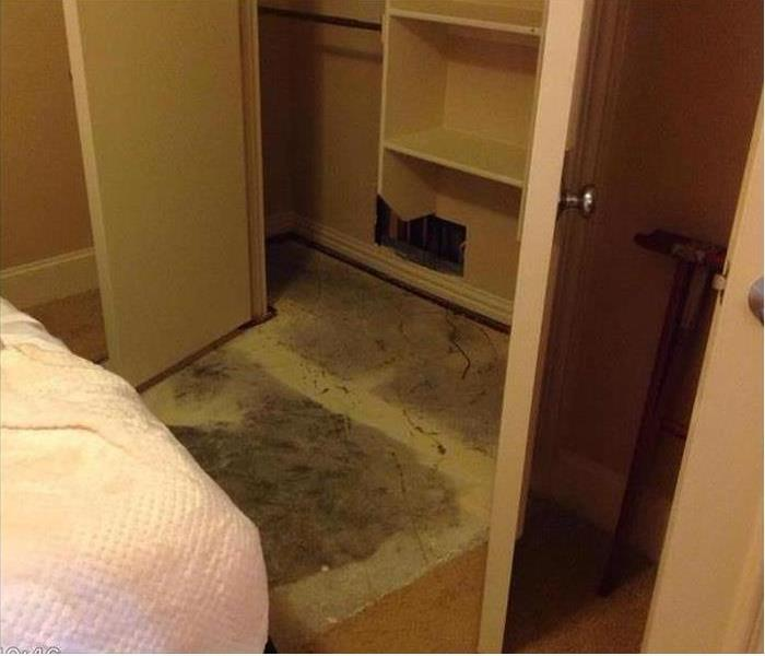 Flooded Carpet Damage in South Riding, VA After