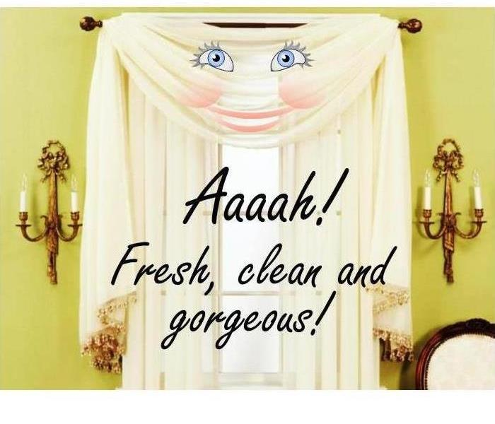 We offer Professional Drapes and Blinds Cleaning Services!